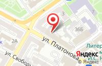 Схема проезда до компании Информ-Сервис в Воронеже