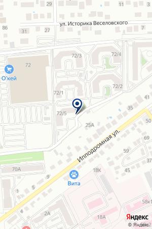 ВЫБОР-СЕРВИС на карте Воронежа