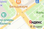 Схема проезда до компании Золотая Корона в Воронеже