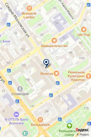Чеки Воронеж на карте Воронежа