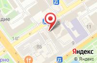 Схема проезда до компании Сити Медиа Груп в Воронеже