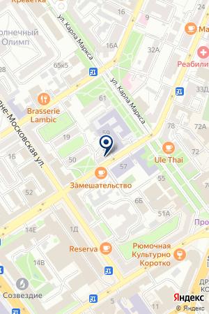 CONVERSE SHOP на карте Воронежа