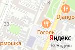 Схема проезда до компании ИНОБИТЕК в Воронеже