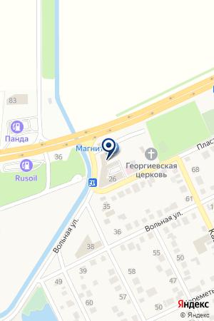 Продуктовый магазин на Пластунской (Хутор Ленина) на карте Краснодара