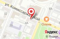 Схема проезда до компании Рост в Воронеже