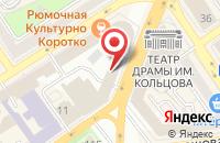 Схема проезда до компании Загс-Сервис в Воронеже