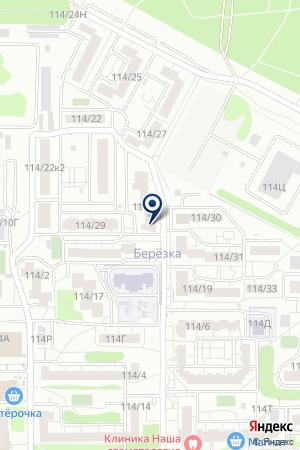 Добрый доктор на карте Воронежа