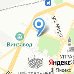 Snack на карте Воронежа
