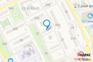 Двухкомнатная квартира в Нововоронеже Набережная ул., 32А