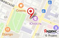 Схема проезда до компании Успех-Инфо в Воронеже