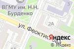 Схема проезда до компании Ателье в Воронеже