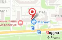 Схема проезда до компании Сфера-21 в Воронеже