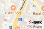 Схема проезда до компании Зона боя в Воронеже