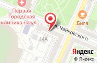 Схема проезда до компании Аква Мед в Воронеже