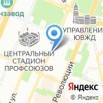 Студио Z на карте Воронежа