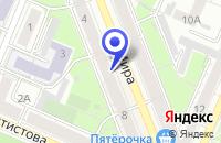 Схема проезда до компании МАГАЗИН-САЛОН ОДЕЖДЫ ПРИНЦЕССА в Воронеже