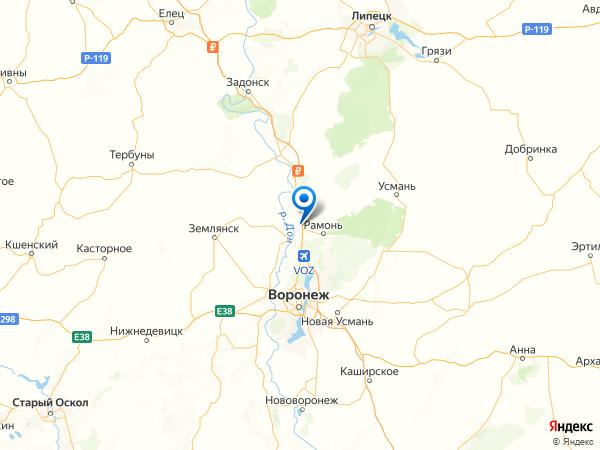 деревня Богданово на карте