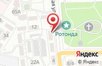Схема проезда до компании Арт-Фолио в Воронеже