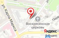 Схема проезда до компании Автоюрист36 в Воронеже