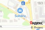 Схема проезда до компании GARAGE в Воронеже