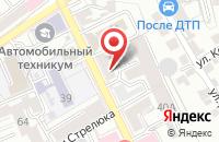 Схема проезда до компании Контент в Воронеже
