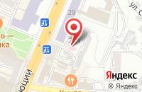Схема проезда до компании Бенко в Воронеже