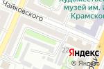 Схема проезда до компании Содружество, ТСЖ в Воронеже