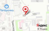 Схема проезда до компании Инсайт в Воронеже