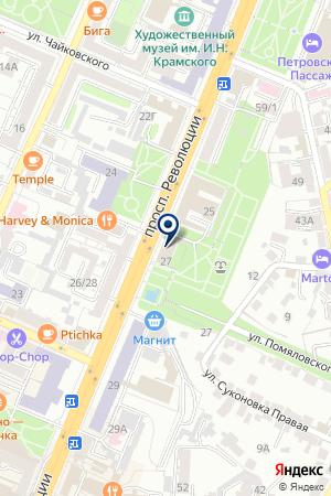 Туристско-информационный центр Воронежа на карте Воронежа