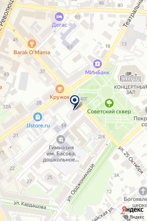 Vogne на карте Воронежа