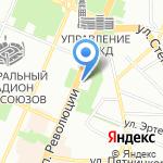 Банкомат на карте Воронежа