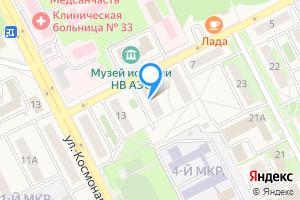Однокомнатная квартира в Нововоронеже ул. Курчатова, 11