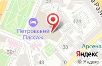 Схема проезда до компании Сетелем банк в Воронеже
