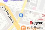 Схема проезда до компании Военторг в Воронеже