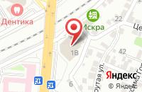 Схема проезда до компании Риквест в Воронеже