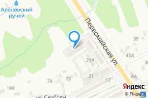 Двухкомнатная квартира в Нововоронеже Первомайская ул., 21Б