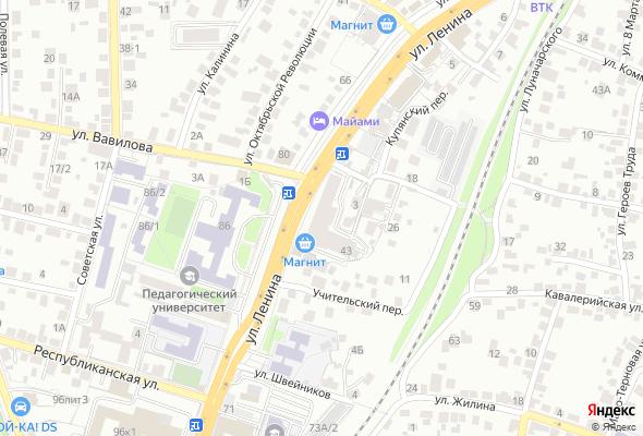 продажа квартир ул. Ленина, 43