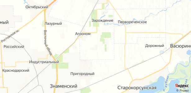 Вишняки на карте