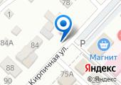 Шиномонтажная мастерская на Кирпичной (Динская) на карте