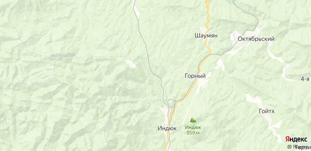 Чилипси на карте