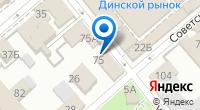 Компания Магазин текстиля на ул. Чапаева (Динская) на карте