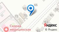 Компания СТО на карте