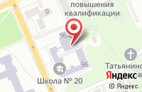 Схема проезда до компании Сова в Воронеже