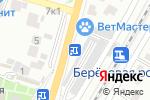 Схема проезда до компании Сакура в Воронеже