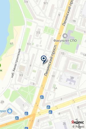 Автотайл на карте Воронежа