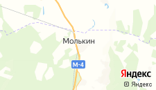 Отели города Молькино на карте