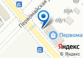 Монтажник на карте