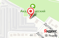 Схема проезда до компании Старт в Воронеже
