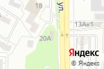Схема проезда до компании Магазин автозапчастей в Воронеже