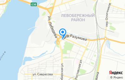 Местоположение на карте пункта техосмотра по адресу г Воронеж, ул Менделеева, д 2Е